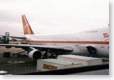 ヴァージン・アトランティック航空の機体